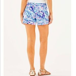 Lilly Pulitzer Shorts - NWT - Callahan Short with Lace Breakwater Size 8